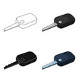 car keycar single icon in cartoon style vector image vector image