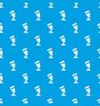 egypt women pattern seamless blue vector image vector image