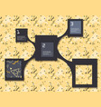 inforaphic elements vector image