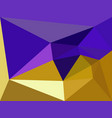 purple and gold geometric vector image vector image