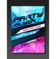 Live music event party design with place for text vector image