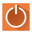 Power switch symbol vector image