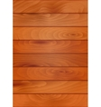 Wood texture background with planks or boards vector image
