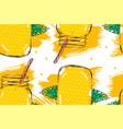 hand drawn abstract creative detox water vector image