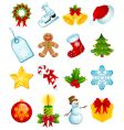 Christmas icons vector | Price: 3 Credits (USD $3)