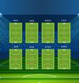 Different soccer team arrangement Football