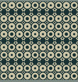geometric seamless pattern with circles trendy vector image vector image