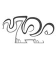 Zoo symbol vector image vector image
