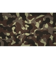 Army Camouflage Pattern Khaki Color vector image