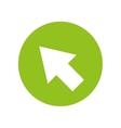 arrow pointer cursor icon vector image vector image