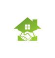 deal home logo vector image
