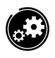 gears wheel cog vector image