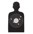 rifle target game vector image