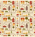 seamless pattern - texture simulating a map vector image vector image