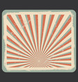 background in vintage style vector image
