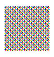 cmyk pattern seamless vector image vector image