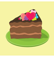 love cake vector image