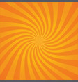 background striped explosion or sunburst vector image