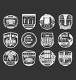 beer house bar and brewery pub festival vector image vector image