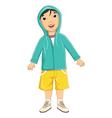 Boy Wear Jacket vector image