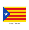 coat of arms of catalonia vector image