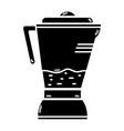 contour technology blender electric kitchen vector image