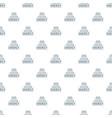 drop water energy pattern seamless vector image vector image