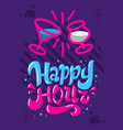 happy hour poster flyer design hand drawn vector image vector image