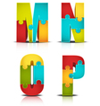 Letters vector image vector image