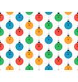 merry christmas bowling seamless horizontal vector image vector image