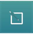 Simple registration icon vector image