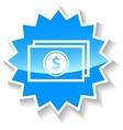 Buck blue icon vector image vector image