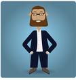 Businessman vector image vector image