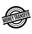 Money Transfer rubber stamp vector image vector image
