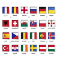 set soccer tournament badge vector image vector image