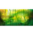 wild jungle forest background vector image