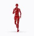 athlete runner a woman runner running