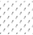 big thermometer pattern seamless vector image vector image