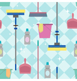 Cleaning pattern vector image vector image