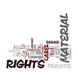 everyone wins with private label rights text vector image vector image