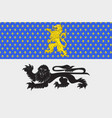 flag of mamers in sarthe of pays de la loire is a vector image vector image
