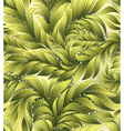 Green leaf seamless pattern vector image vector image