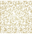 Seamless Pattern BackgroundDamask Wallpaper vector image vector image
