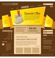 Website design template 960 Grid