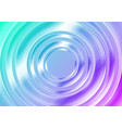 blue and pink glossy circles abstract tech vector image vector image