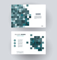 Business cards Design Template layout vector image vector image
