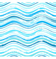 Colorful stripes seamless wavy pattern vector image vector image
