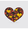 Decorative Heart Shape vector image vector image