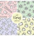 Doodle bacteria pattern