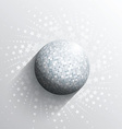 Mirror ball background vector image vector image